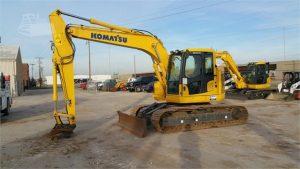 Used 2014 Komatsu PC138USLC-10 Crawler Excavator