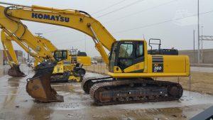 Used 2014 Komatsu PC360LC-10 Crawler Excavator