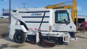 Used 2007 ALZ MX450 Sweeper